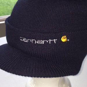 Carhartt Accessories - Carhartt winter beanie with visor brim NWT